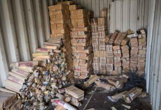 Container of detonators, West Mosul
