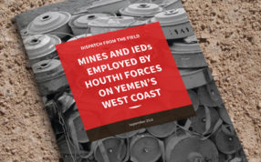 Mines and IEDs Employed by Houthi Forces on Yemen's West Coast - cOVER