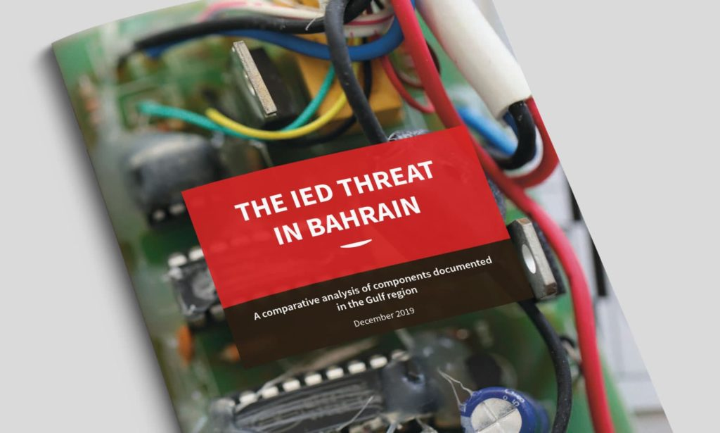 The IED threat in Bahrain