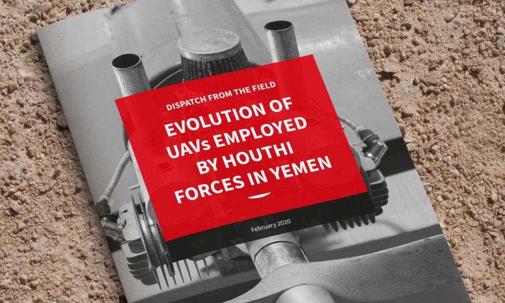 Evolution of UAVs employed by Houthi forces in Yemen