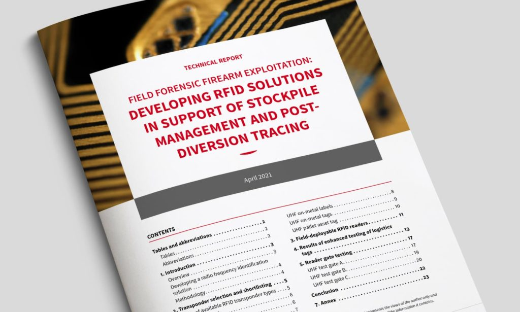 Technical Report - Developing RFID solutions in support of stockpile management