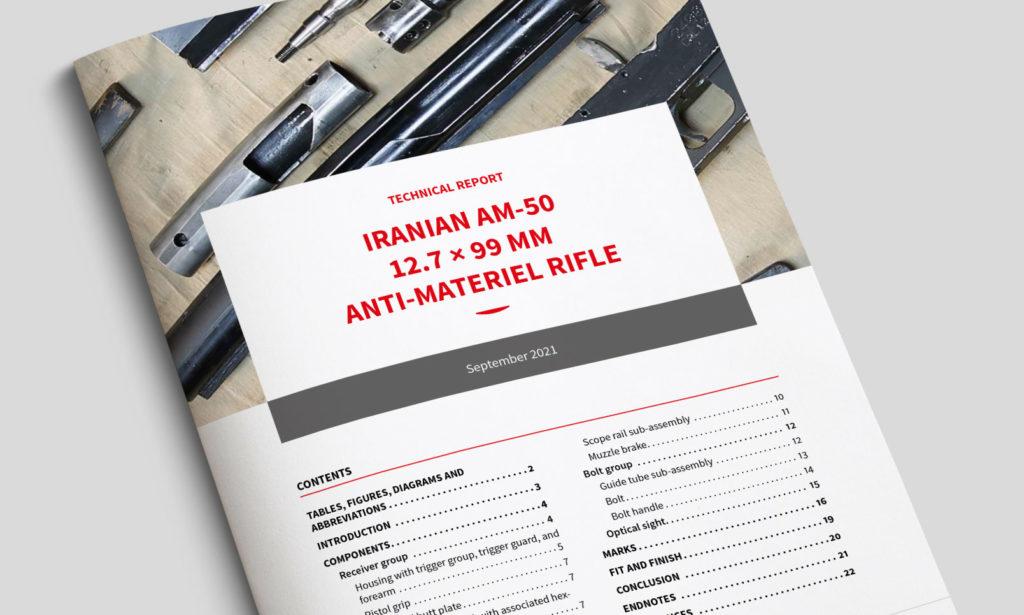 TECHNICAL REPORT - Iranian AM-50 12.7 × 99 mm anti-materiel rifle